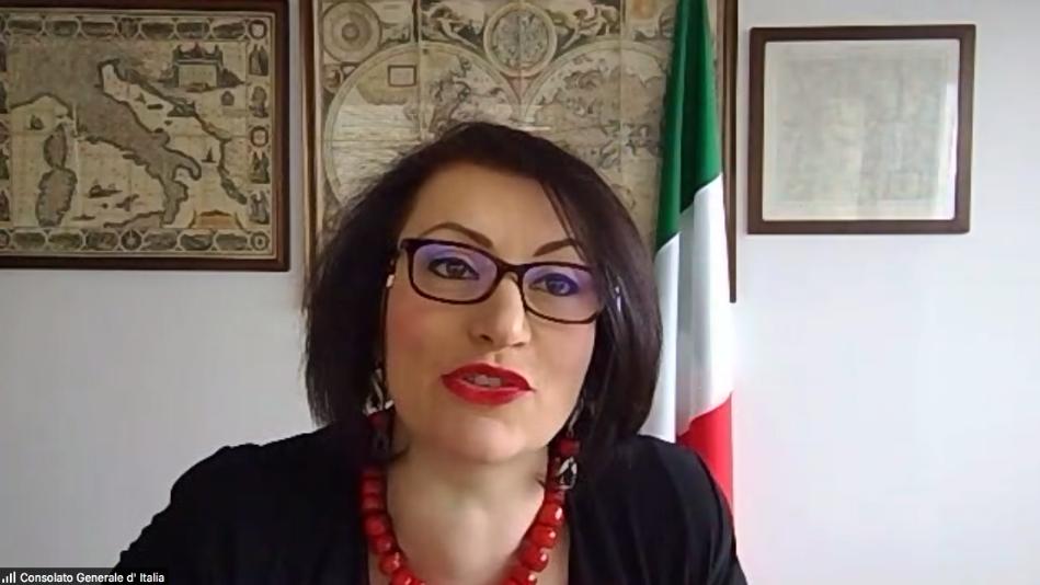 La Console Generale d'Italia a Montreal, Dott.ssa Silvia Costantini
