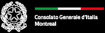 Logo Consolato Generale d'Italia a Montreal